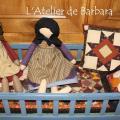 Mini Quilts 13 et Poupée Amish