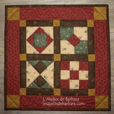 KIT Marelle Initiation au patchwork